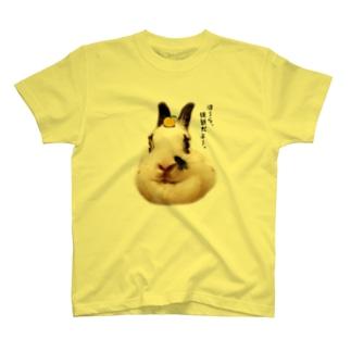 白菜(うさぎ) T-shirts