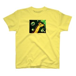 夜のキリン T-shirts