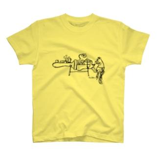 録音係のリス T-shirts