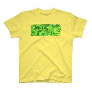 茶葉 T-shirts