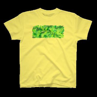 shirokumasaanの茶葉 T-shirts