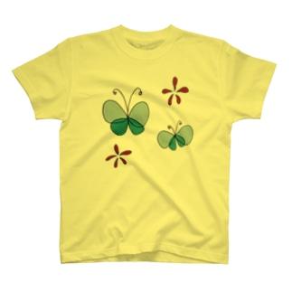 蝶々 T-shirts