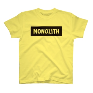 MONOLITH(モノリス)グッズ T-shirts