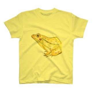 てがきとのさまがえる T-shirts