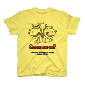 CHIN-JU シリーズ 犬? 2 T-shirts