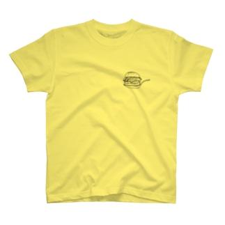 らしからぬ店のHamburger × Hamburger T-shirts