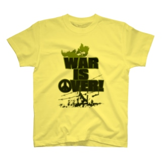 WAR_IS_OVER! T-shirts