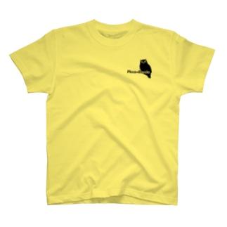 ロッチャフクロウ×壁 T-shirts