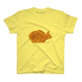 たい焼き(大) T-shirts