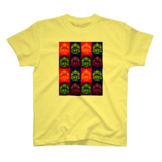 覚醒達磨‼️ ハイダ族風 T-shirts