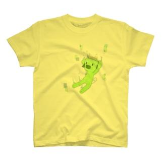 えめ豚 T-shirts