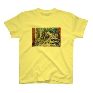Passhunter 自転車 T-Shirt