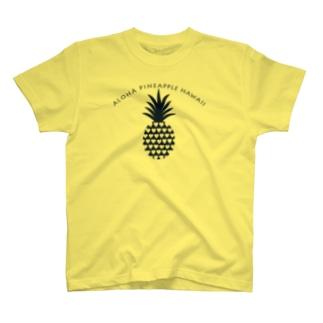 パイナップル(heart)035 T-shirts