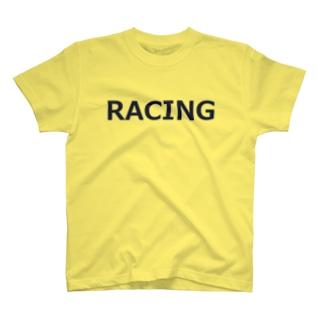 アメリカンベースのレーシング T-shirts