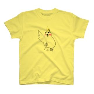 いんこちゃん T-shirts