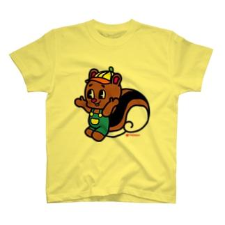 りす 二番 T-shirts
