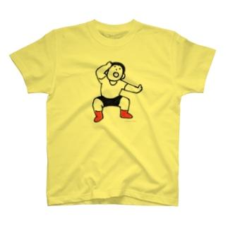 元気な人(おどろき) T-shirts
