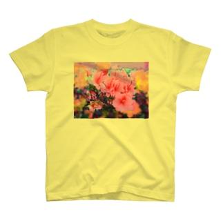 ツツジ T-shirts