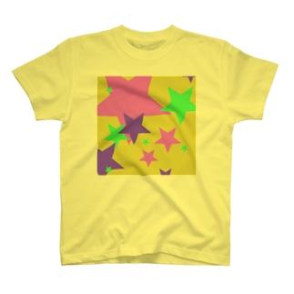 pop★shooting stars T-shirts