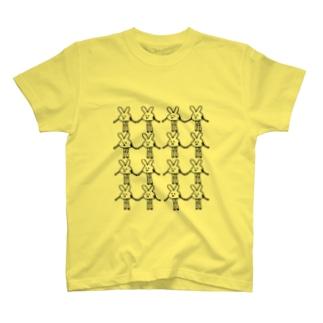 ナマ足うさぎ マキシマム T-shirts