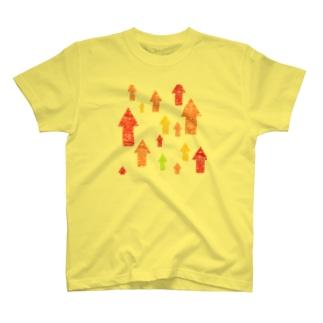やる気上昇中 T-shirts