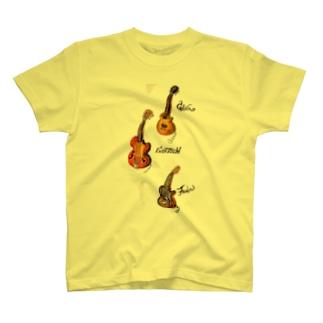 guitars T-shirts