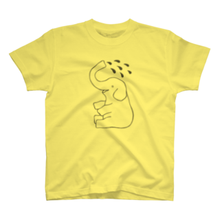 motoko torigoeのゾウ1 T-shirts