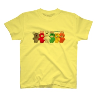 プクーズ整列! T-shirts