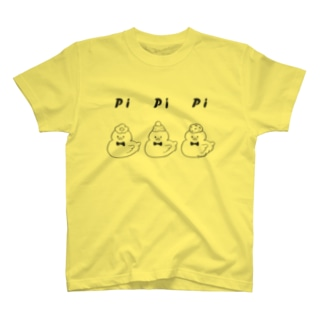 PiPiPi(black) T-shirts