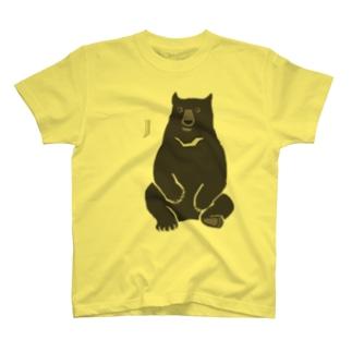 AWZツキノワグマ(大)両面 T-shirts