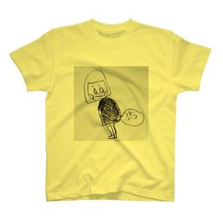 女だって屁。 T-shirts
