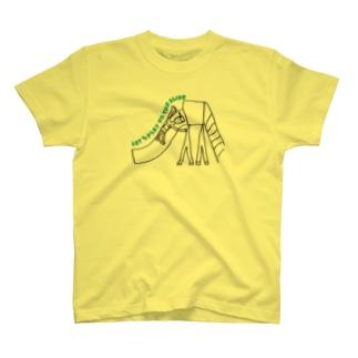 画伯シリーズ★滑り台 T-shirts