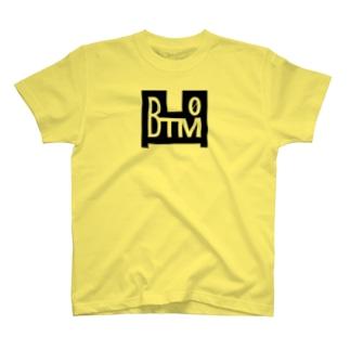BTM-BLACK(フロントのみ) T-shirts