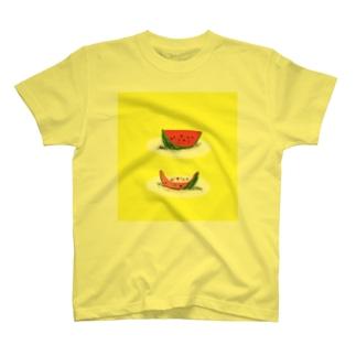 スイカ!!美味しかったよ!! T-shirts