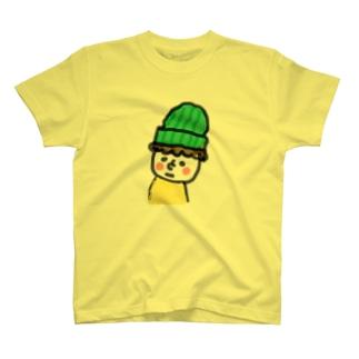 顔の白い小さき人 T-shirts