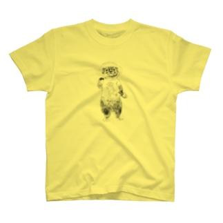 キャンパーカワウソ T-shirts