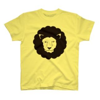 モードなライオン T-shirts