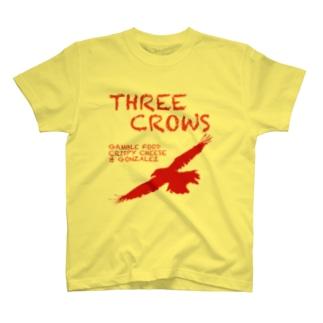 三羽鴉(きいろ) T-shirts