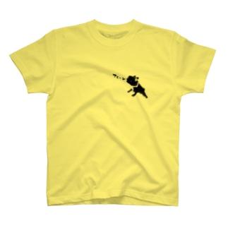 がんばれセコちゃん(フレンチブルドッグブリンドル) T-shirts