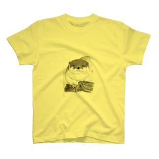 くつろぎの白ムギュ王子 T-shirts