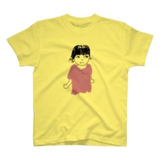 にらみガール T-shirts