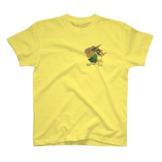 ボタンインコ(破壊神スサノオ) T-shirts