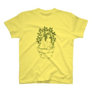 「Potted plant」 T-shirts