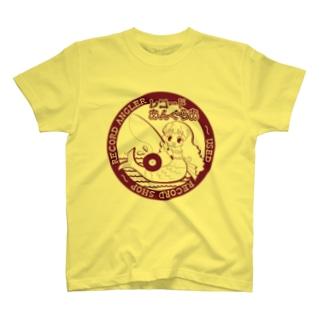 人魚ちゃん柄A T-shirts