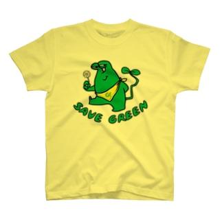 グリーンモンスター T-shirts