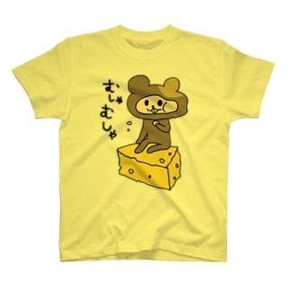 やっぴー/むしゃむしゃ T-shirts