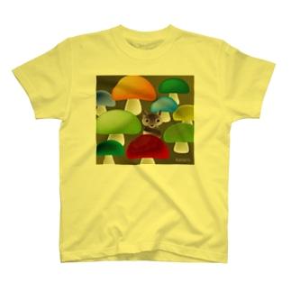 森のかくれんぼ T-shirts