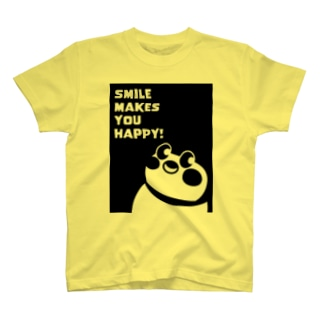 Smile makes you happy T-shirts