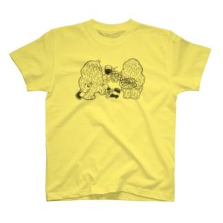 Galick モンスター&泥棒猫 T-shirts