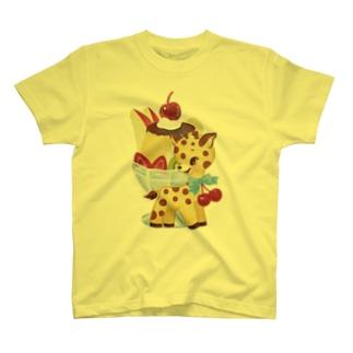 キリンプリン T-shirts
